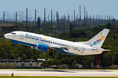 Photograph - Bahamas Air by Dart and Suze Humeston