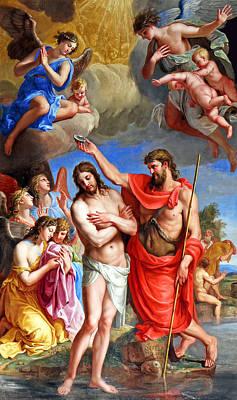 Baptism Painting - Baptism by Munir Alawi