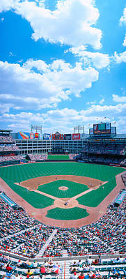 Baseball Stadium, Texas Rangers V Art Print by Panoramic Images