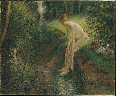 Bather In The Woods Original