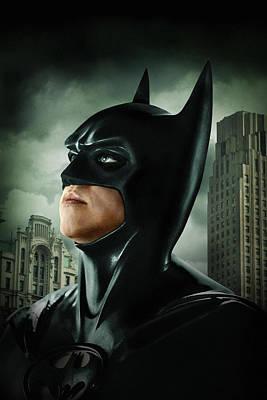 Batman Digital Art - Batman Forever 1995  by Unknown