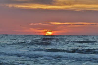 Photograph - Beach Sunrise by Jimmy McDonald