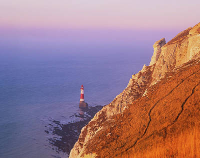 Photograph - Beachy Head Lighthouse  by Will Gudgeon
