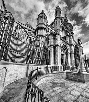 Photograph - Belfast Cathedral by Jim Orr