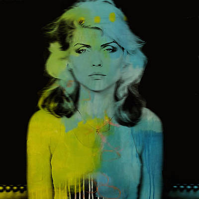 Mixed Media - Blondie Debbie Harry by Marvin Blaine