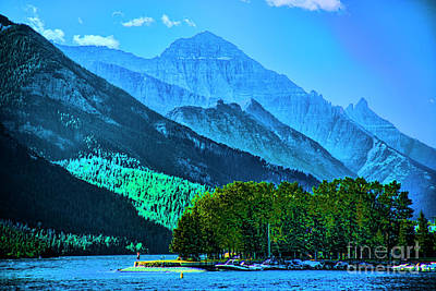 Photograph - Blue Lake by Rick Bragan