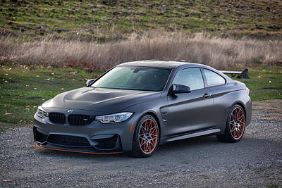 Photograph - #bmw #m4 #gts #print by ItzKirb Photography