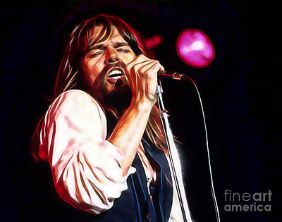 Music Mixed Media - Bob Seger Collection by Marvin Blaine