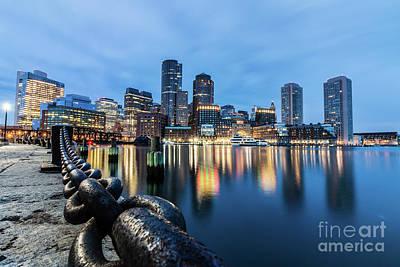 Photograph - Boston Skyline 7 by Mark Brennan