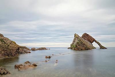 Cullen Wall Art - Photograph - Bow Fiddle Rock - Scotland by Joana Kruse