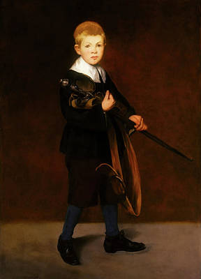 Painting - Boy With A Sword by Edouard Manet