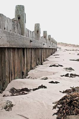 Messy Photograph - Breakwater by Tom Gowanlock