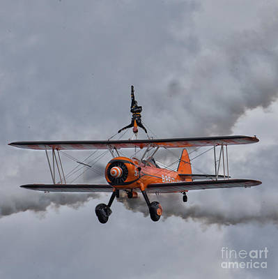 Wings Wall Art - Photograph - Breitling Wing Walker by Smart Aviation
