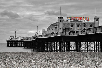 Piers Wall Art - Photograph - Brighton Pier by Smart Aviation
