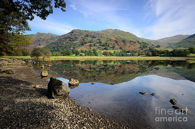 Lake District Wall Art - Photograph - Brothers Water by Smart Aviation