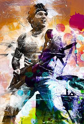 Bruce Springsteen Print by Best Actors