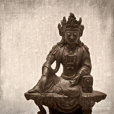 Zen Photograph - Buddha by MingTa Li