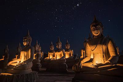 Sukhothai Photograph - Buddha Statue  by Anek Suwannaphoom