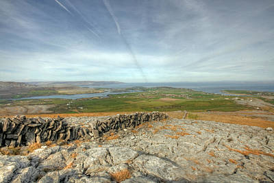 Burren View  Art Print by John Quinn