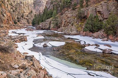 Photograph - Cache La Poudre River  by Marek Uliasz