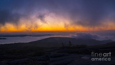 Photograph - Cadillac Mountain Sunset. by New England Photography