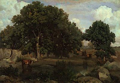Camille Corot   Art Print