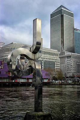 Canary Photograph - Canary Wharf by Martin Newman