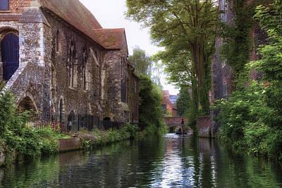 River Stour Photograph - Canterbury - England by Joana Kruse