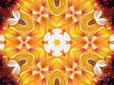 Painting - Caribbean Fantasy Kaleidoscope by J McCombie