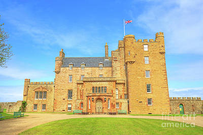Photograph - Castle Of Mey Thurso by Benny Marty