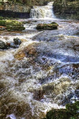 England Photograph - Cauldron Falls by Carol Herbert