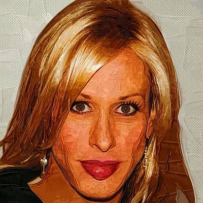 Bruce Jenner Digital Art - Celebrity Alexis Arquette by Best Actors