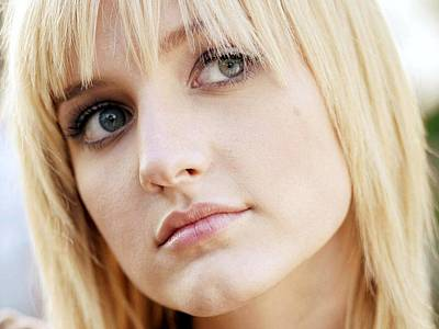 Ashlee Digital Art - Celebrity Ashlee Simpson                    by F S