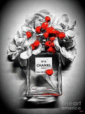 Mixed Media - Chanel by Daniel Janda