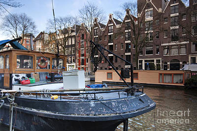 Channels Of Amsterdam Art Print by Andre Goncalves