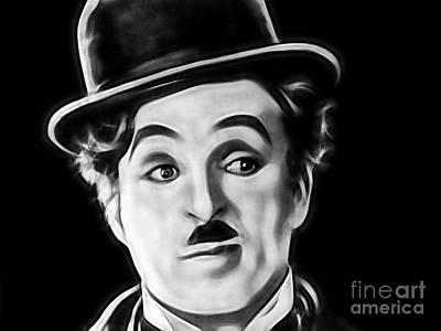 Charlie Chaplin Mixed Media - Charlie Chaplin Collection by Marvin Blaine