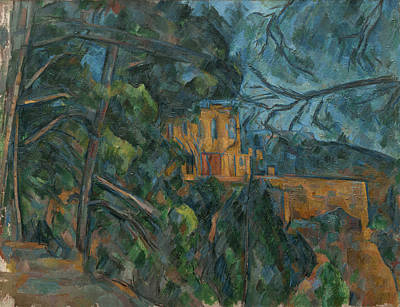Painting - Chateau Noir by Paul Cezanne