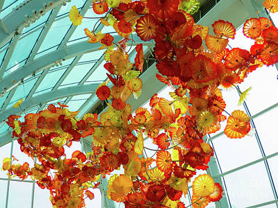 Photograph - Chihuly Garden And Glass Exhibition by Rod Jones
