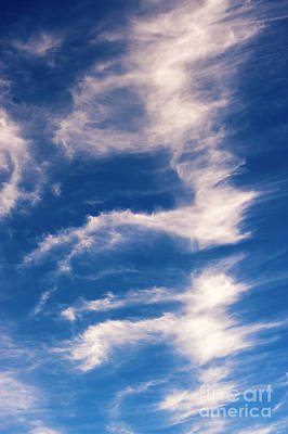 Photograph - Cirrus Clouds With Nature Patterns  by Jim Corwin