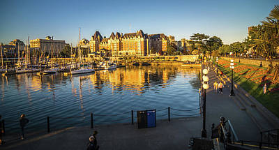 Photograph - City Of Victoria British Columbia In June  by Alex Grichenko