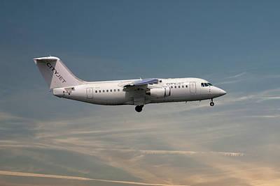 Passenger Plane Photograph - Cityjet Avro Rj85 by Smart Aviation