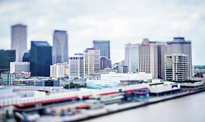 Photograph - Cityscape Scenes Around New Orleas Louisiana Downtown by Alex Grichenko