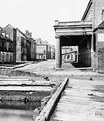 Photograph - Civil War, Charleston - To License For Professional Use Visit Granger.com by Granger