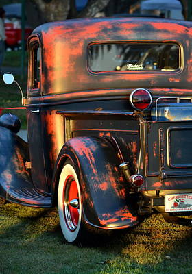 Classic Ford Pickup Art Print by Dean Ferreira