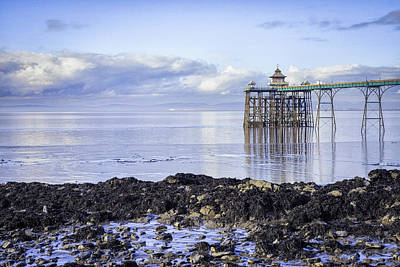 Photograph - Clevedon Pier, Somerset by Christopher Rees