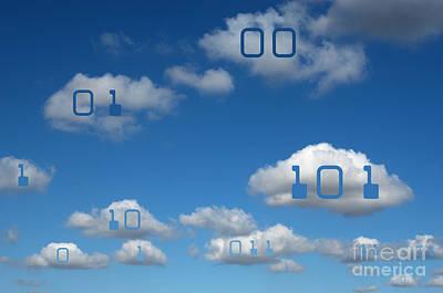 Photograph - Cloud Computing by GIPhotoStock