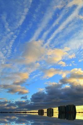 Digital Art - Clouds Above  by Lyle Crump