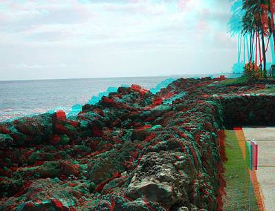 Photograph - Condado Plaza Hilton In 3d by Ron Davidson
