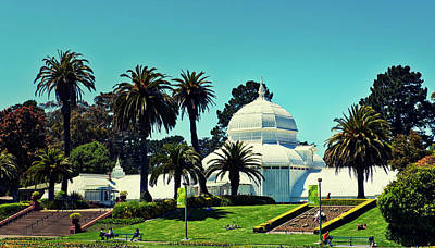 Photograph - Conservatory Of Flowers - San Francisco by L O C
