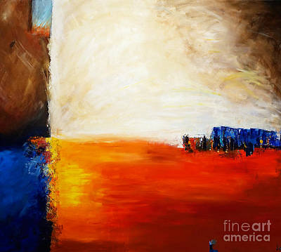 Painting - 4 Corners Landscape by Gallery Messina